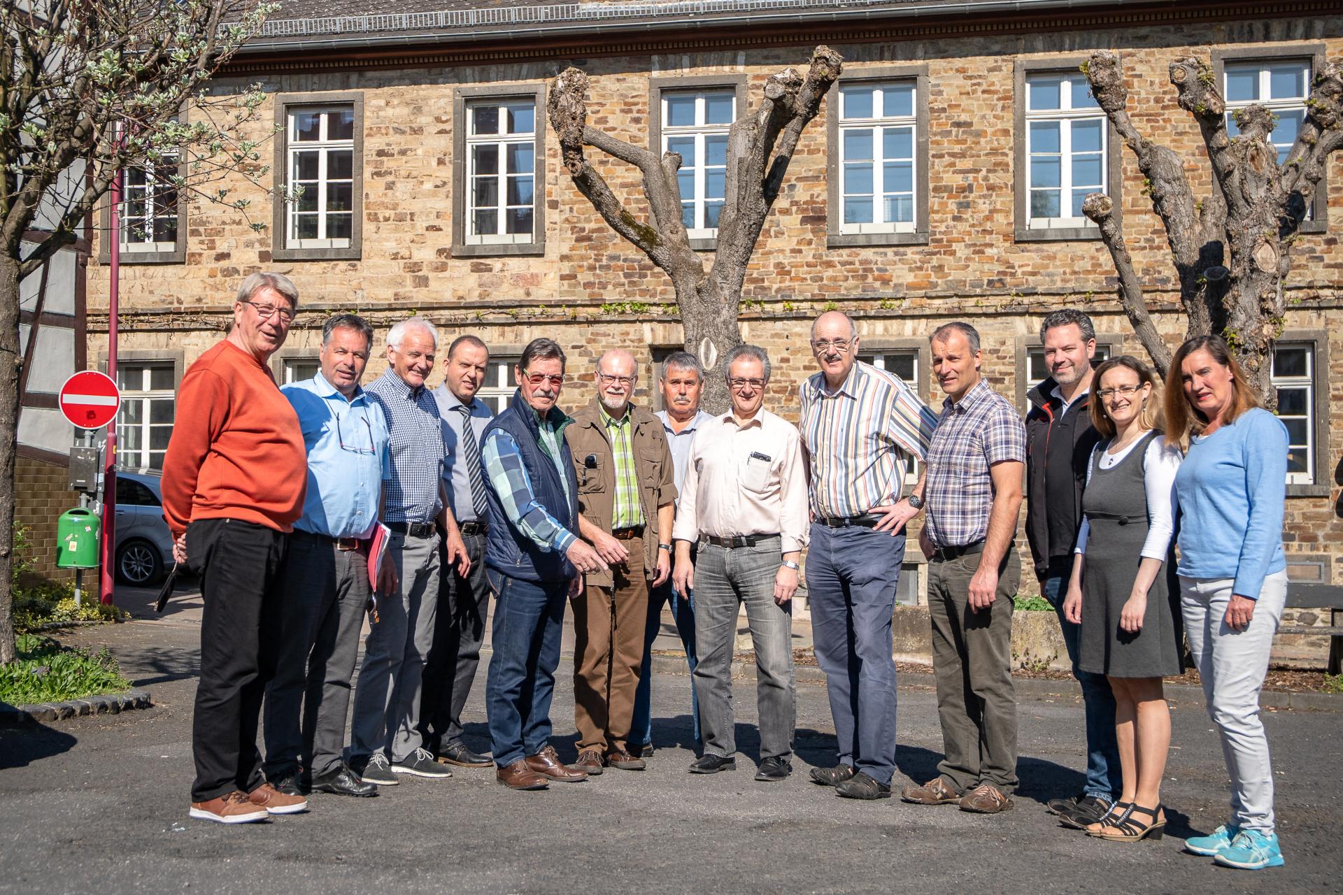 Kreis-FWG vor Ort in Oberbreisig