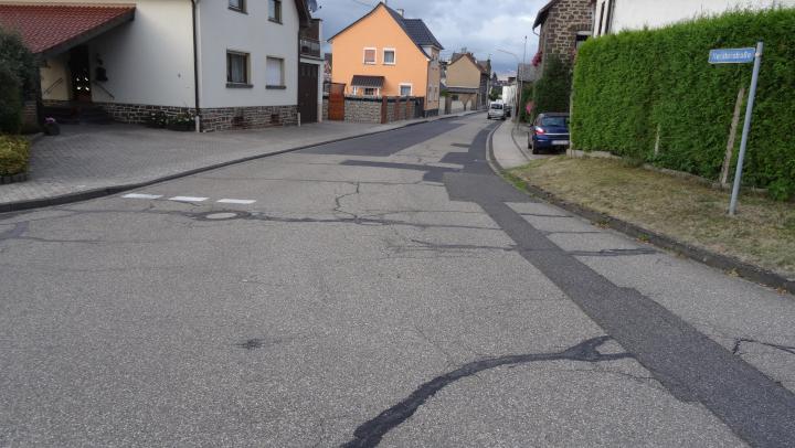 Ausbau der Horsterstraße in Niederlützingen