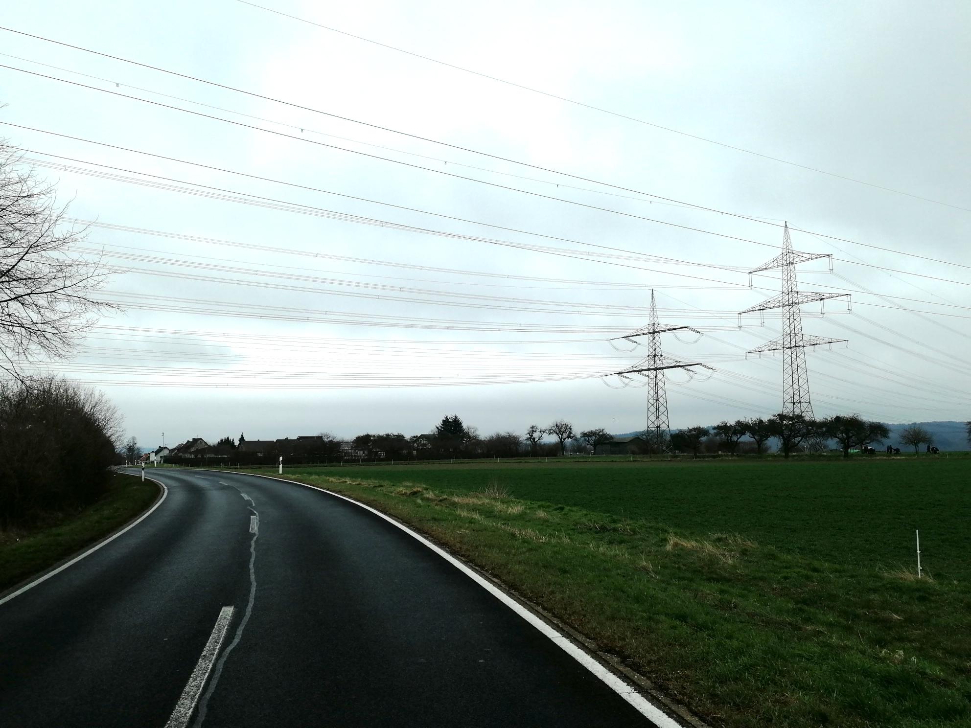 Höchstspannungs-Hybridleitung ULTRANET in Niederlützingen