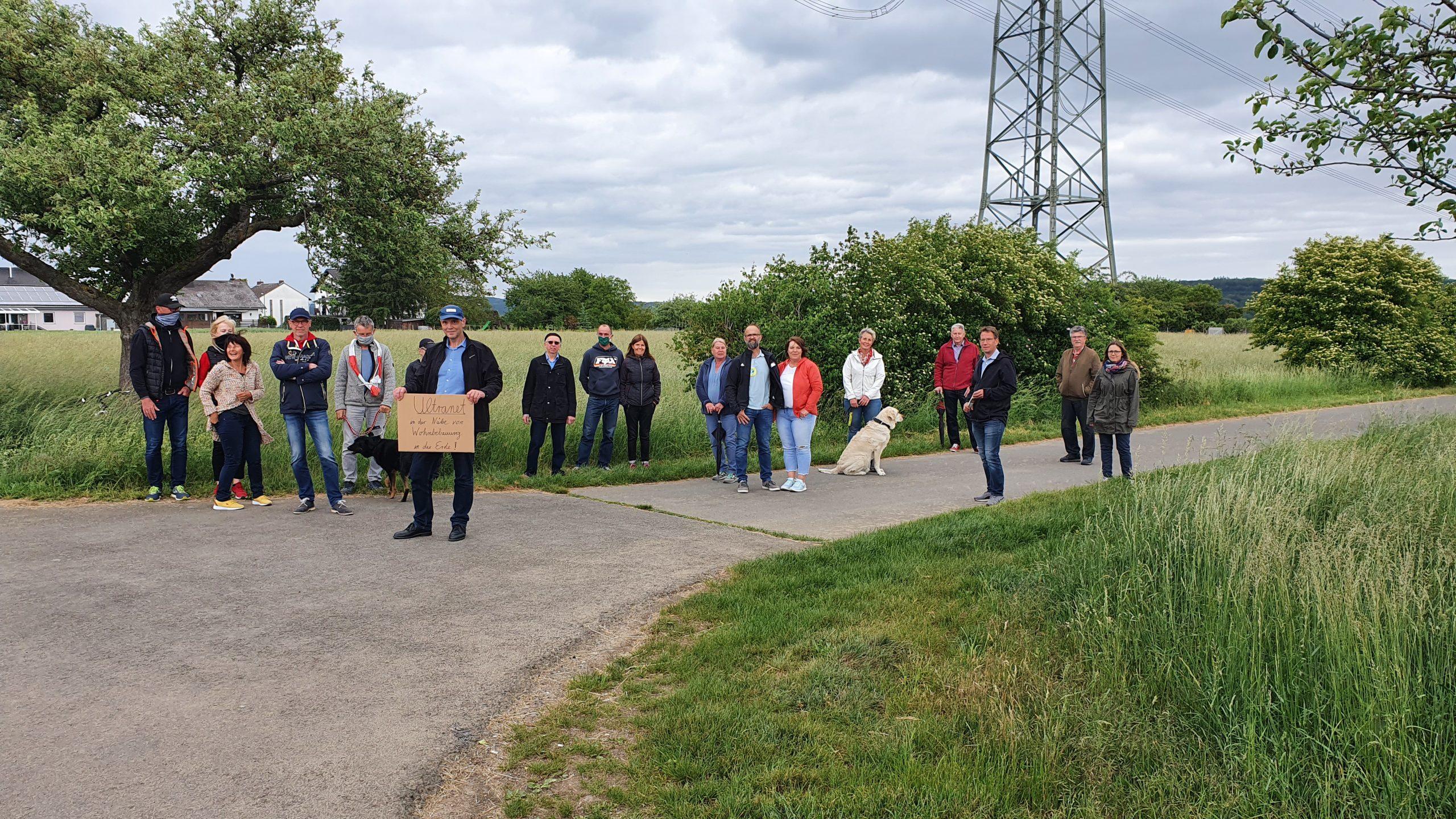 FWG Brohl-Lützing Protest gegen PlanSiG